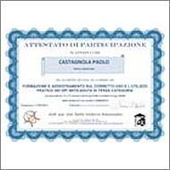 Certificato di Formazione Anticaduta